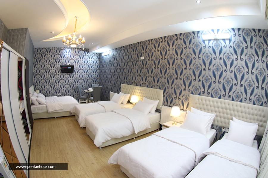 هتل الوند قم اتاق شش تخته