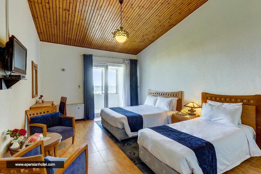 هتل سفیدکنار انزلی اتاق سه تخته