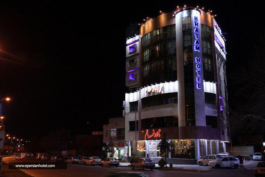 هتل خاتم همدان نما