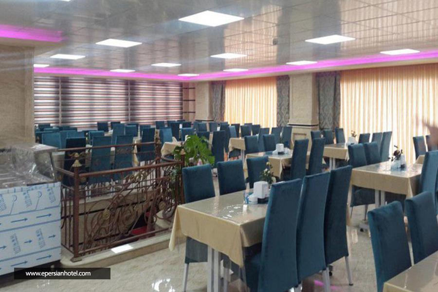 هتل آپارتمان چیپال جلفا رستوران