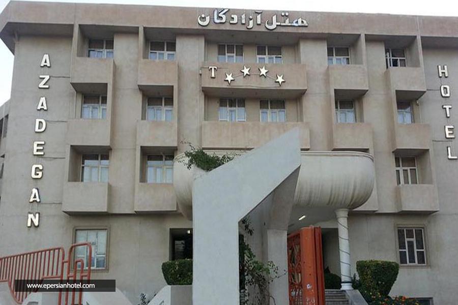 هتل آزادگان کرمانشاه نما
