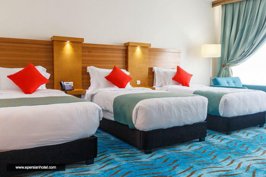 هتل بین المللی کیش اتاق سه تته
