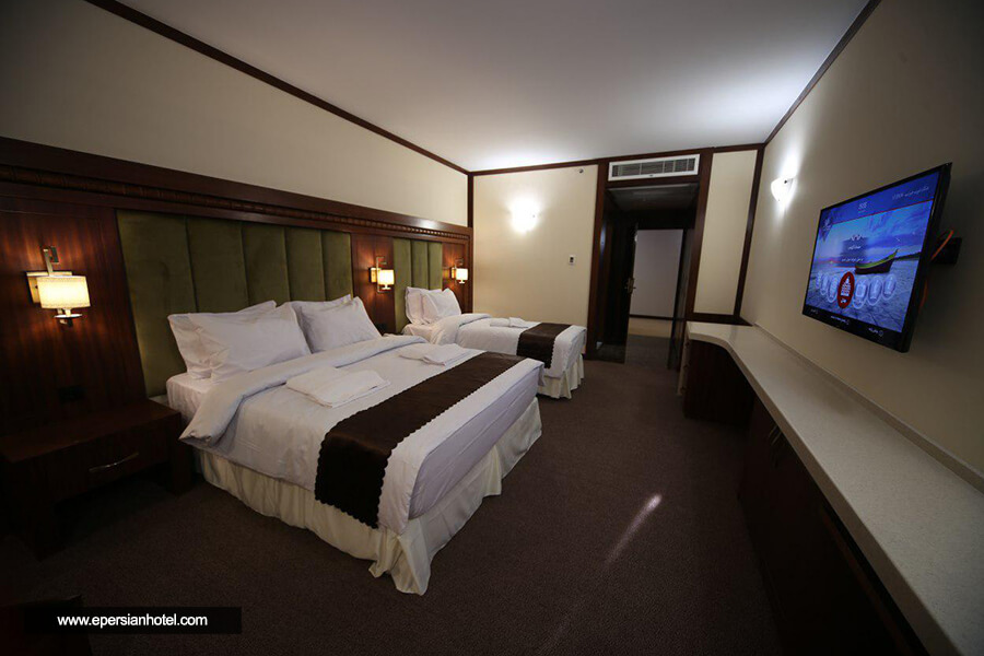 هتل پانوراما کیش اتاق سه تخته