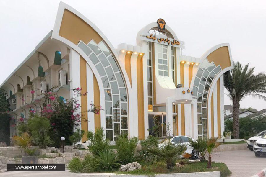 هتل پارس نیک کیش نما