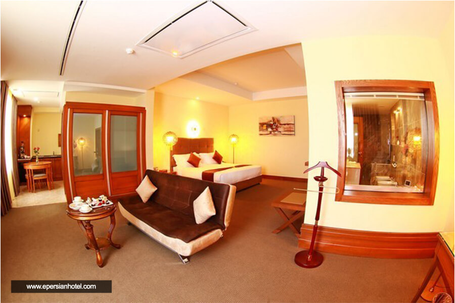 هتل ویدا کیش اتاق دوتخته