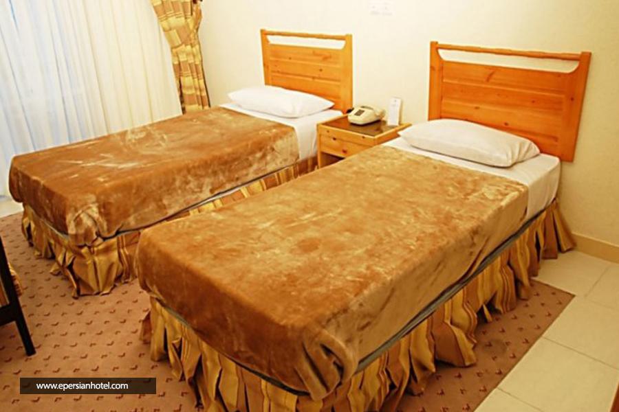 هتل جهانگردی چلندر نوشهر اتاق دوتخته