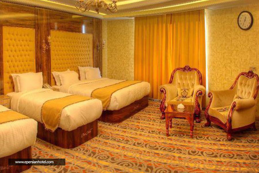 هتل آریا ارومیه اتاق چهار تخته