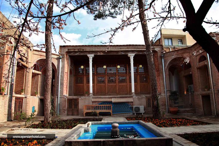 هتل خانه بهروزی قزوین نما