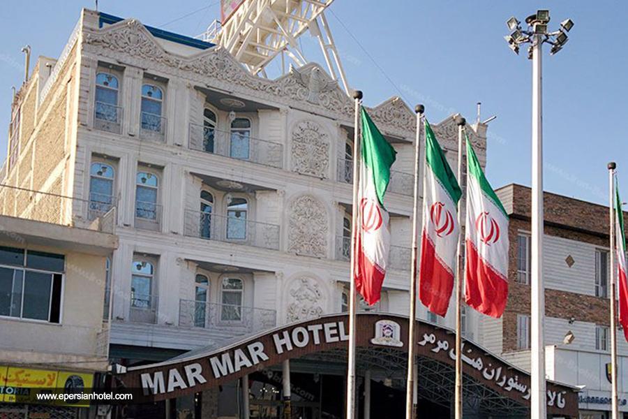 هتل مرمر قزوین نما