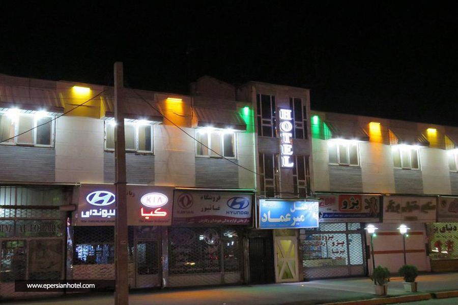 هتل میرعماد قزوین نما
