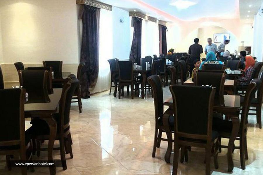 هتل راژیا قزوین رستوران