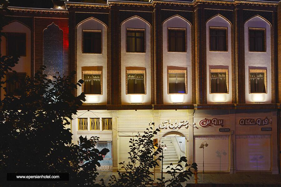 هتل ارگ شیراز نمای بیرونی هتل