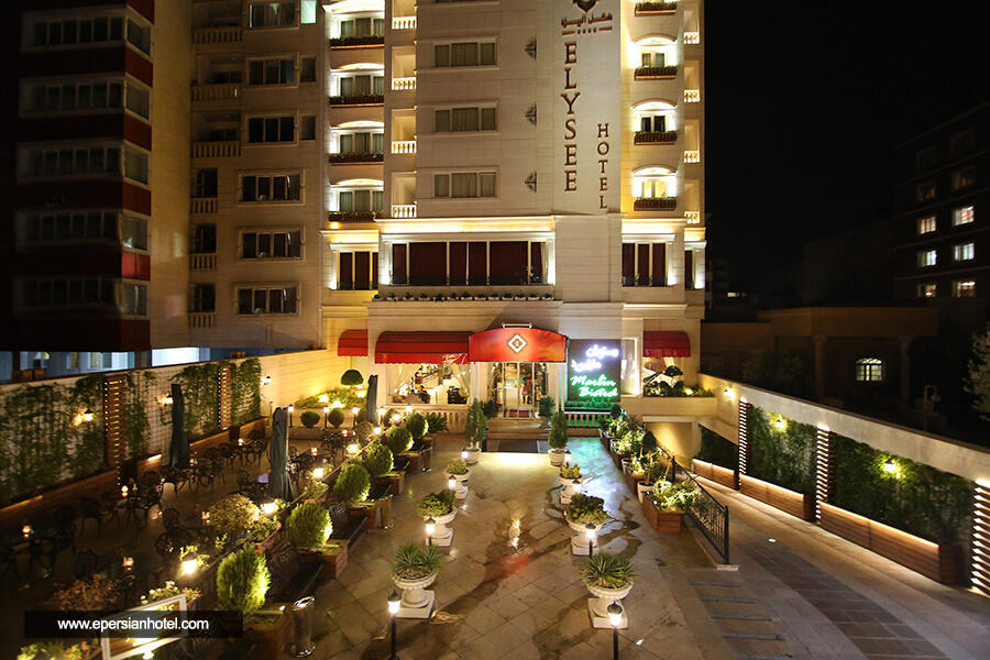 هتل الیزه شیراز نما
