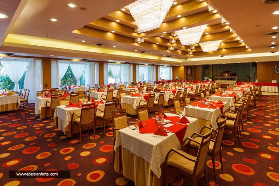 هتل هما شیراز رستوران