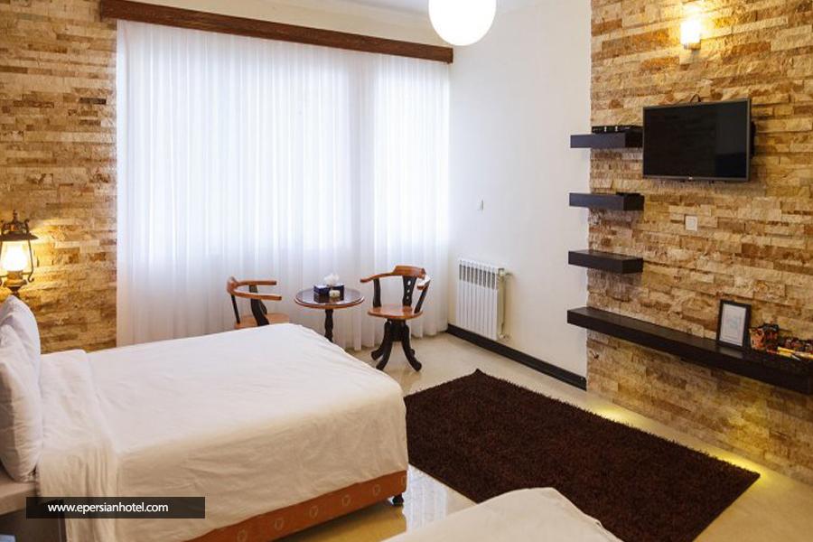 هتل جهانگردی شیراز اتاق دوتخته