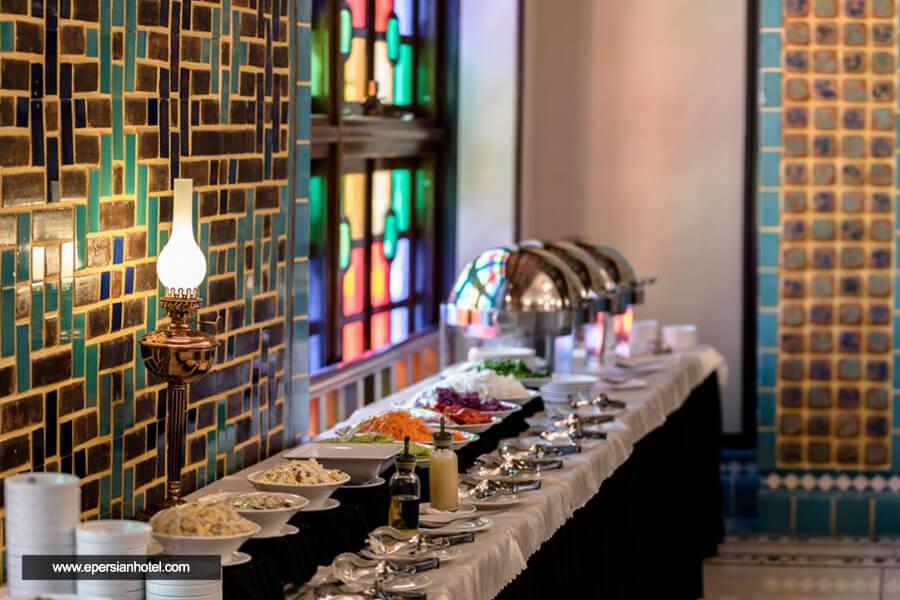 هتل کریم خان شیراز رستوران