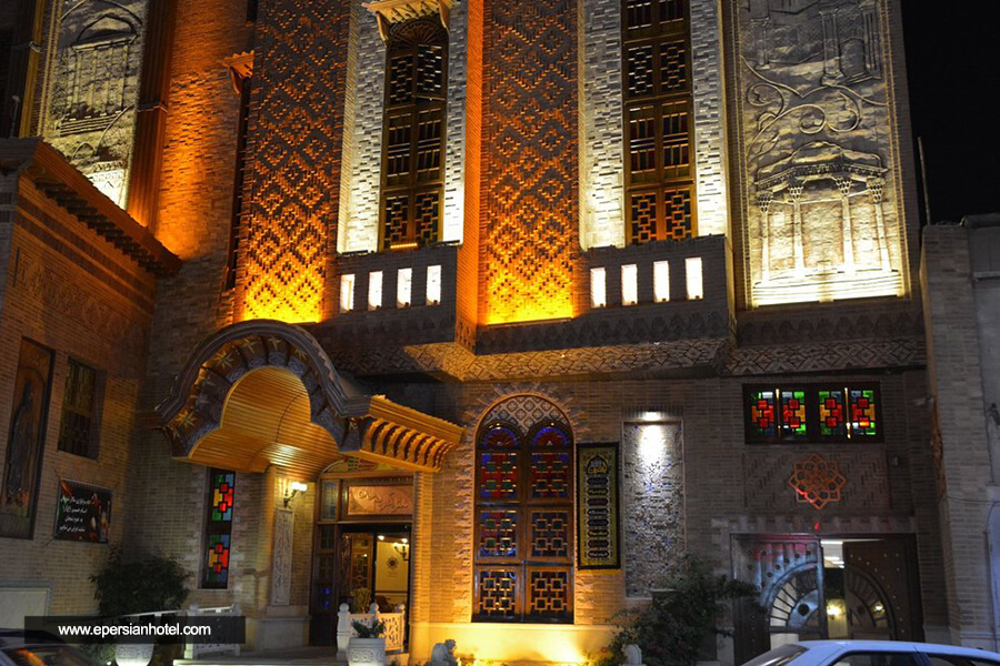 هتل کریم خان شیراز نما