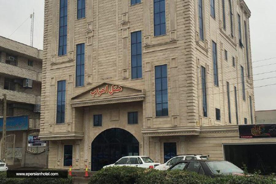 هتل اهراب تبریز نما