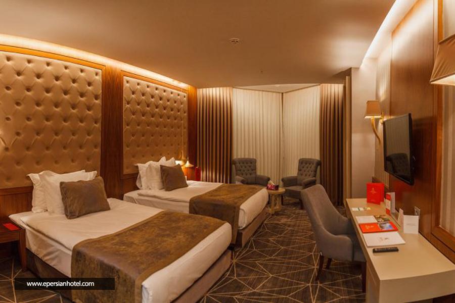 هتل لاله پارک تبریز اتاق دوتخته