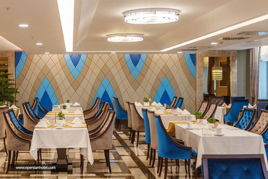 هتل لاله پارک تبریز رستوران