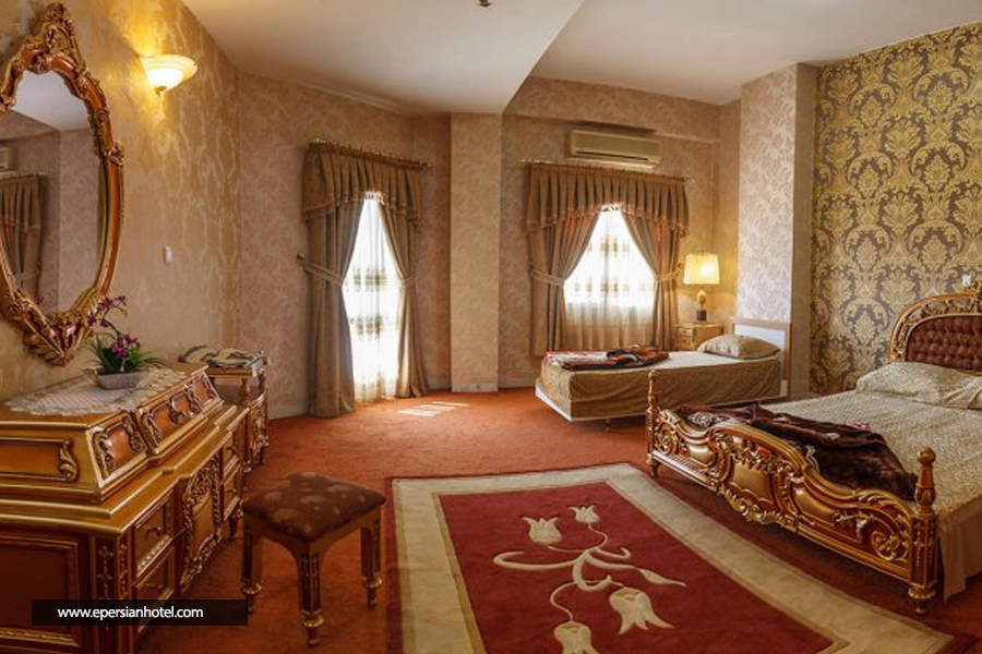 هتل پتروشيمی تبریز اتاق سه تخته