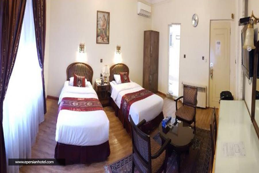 هتل اطلس تهران اتاق دو تخته تویین