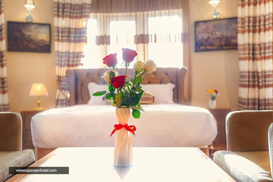 هتل بهار تهران اتاق دو تخته دابل