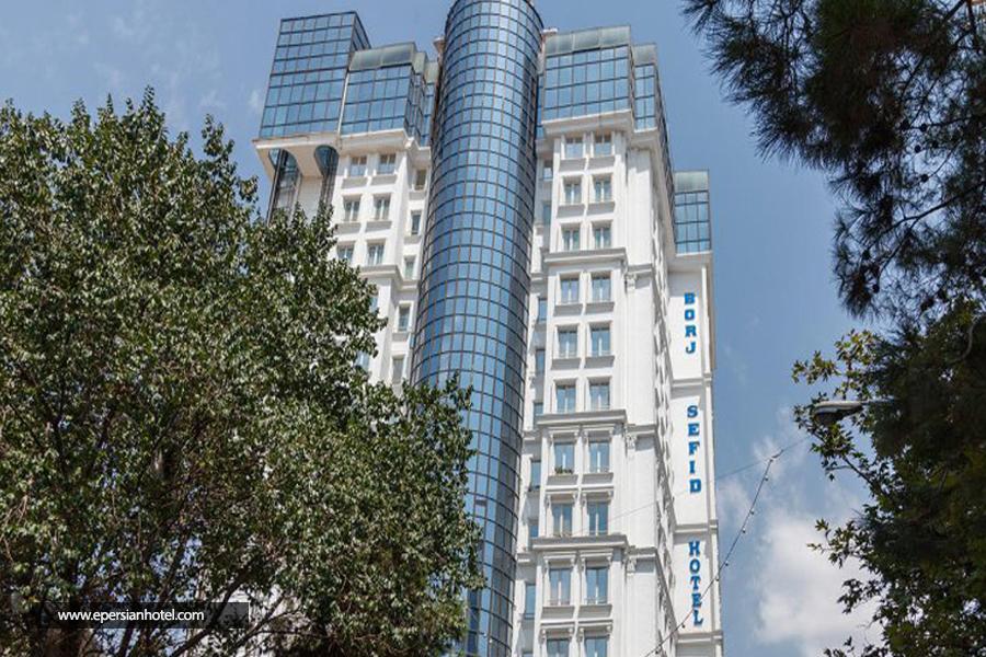 هتل برج سفید تهران نما
