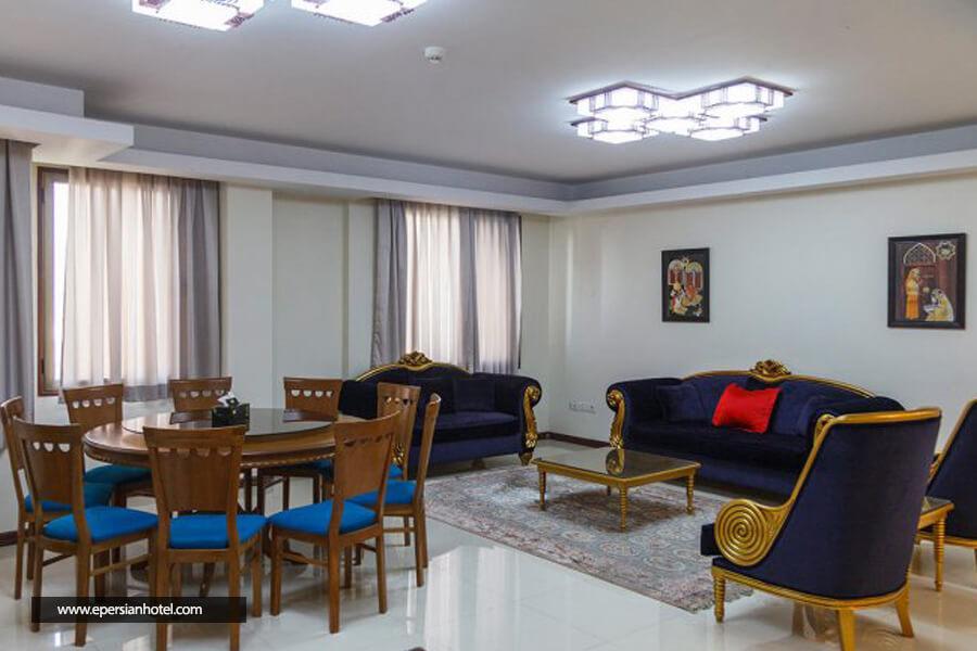 هتل آپارتمان جاده ابریشم تهران سوییت