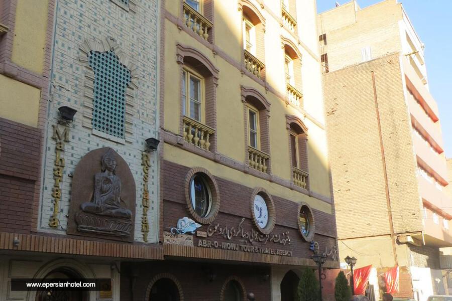 هتل جهان تهران نما