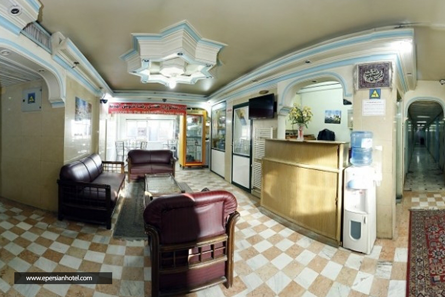 هتل آپارتمان رضا تهران لابی