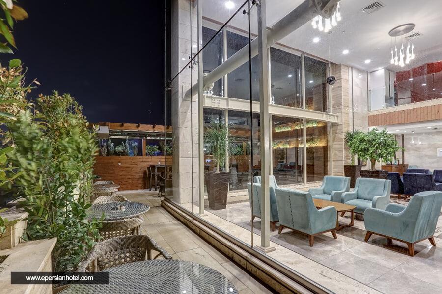 هتل آپارتمان وزرا تهران کافی شاپ