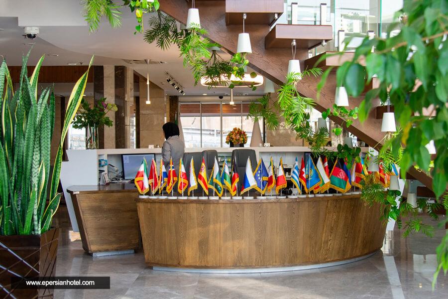 هتل آپارتمان وزرا تهران لابی
