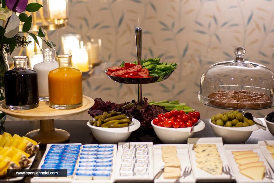 هتل آپارتمان وزرا تهران رستوران