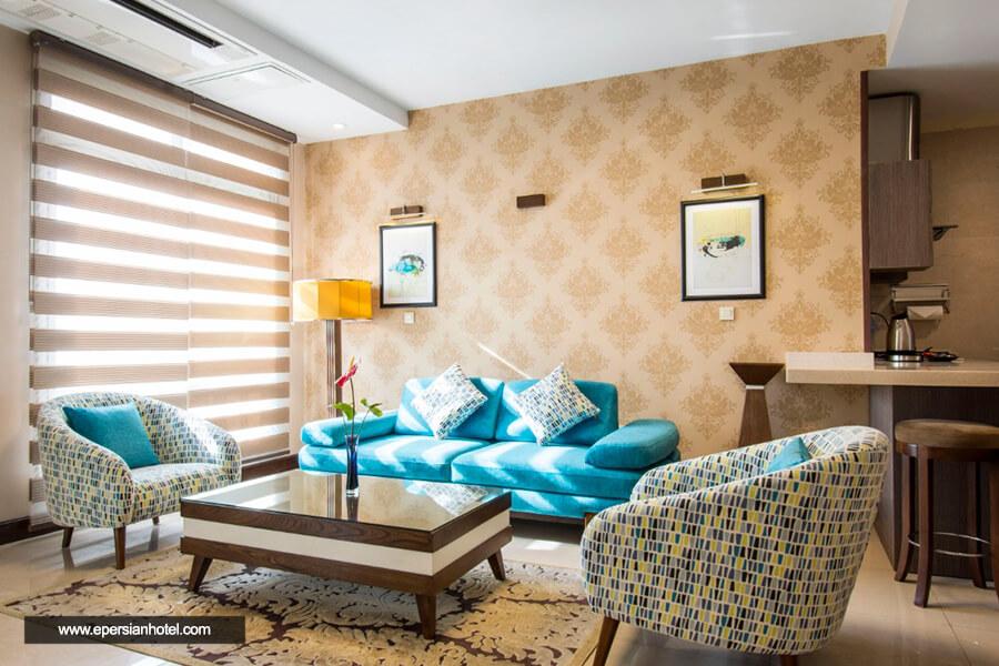 هتل آپارتمان وزرا تهران سوئیت