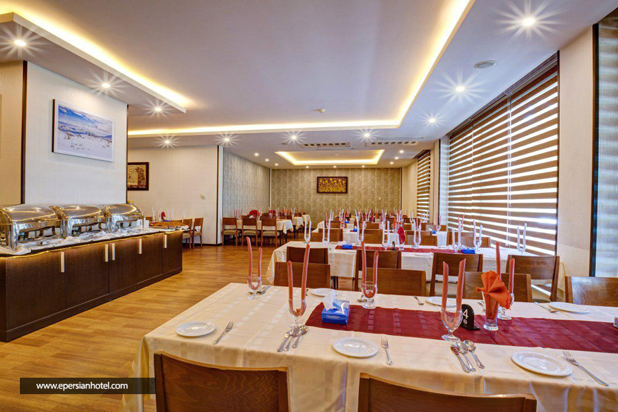هتل آکادمی فوتبال ایران تهران رستوران