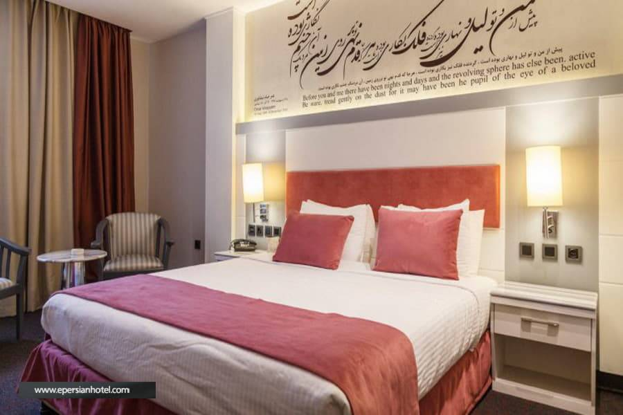 هتل امیر تهران اتاق دو تخته دبل