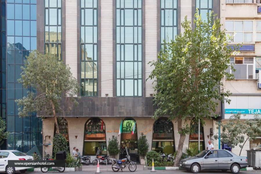 هتل امیر تهران نمای هتل