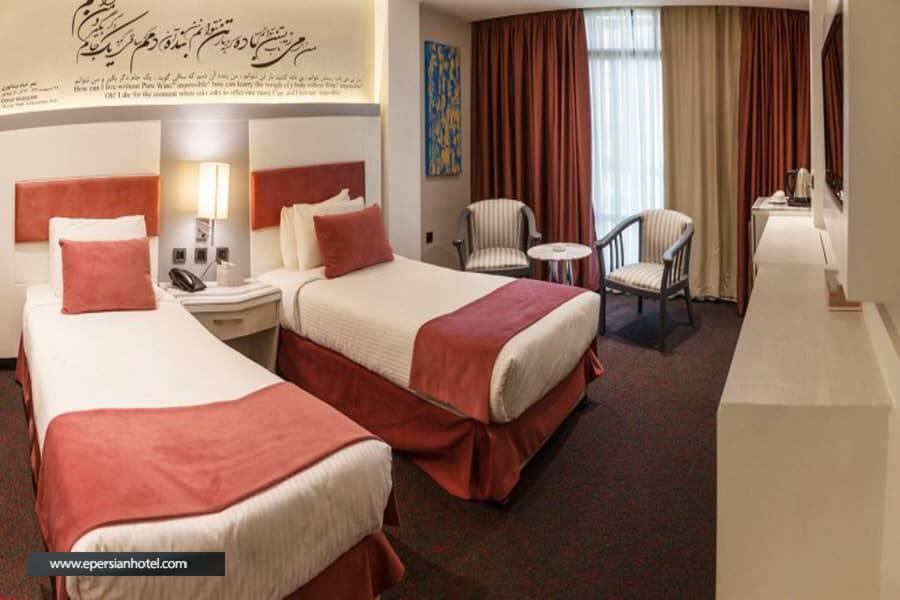 هتل امیر تهران اتاق دو تخته توئین