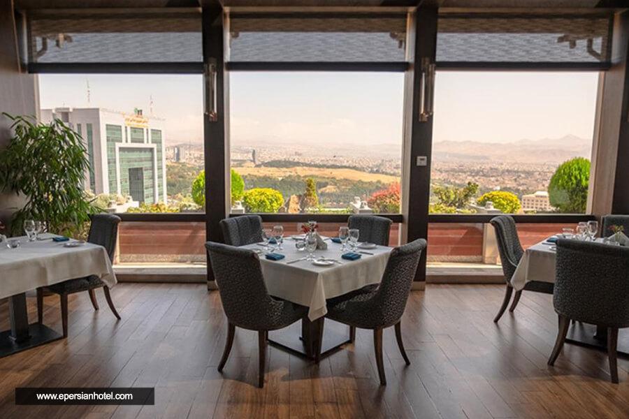 هتل اسکان الوند تهران رستوران
