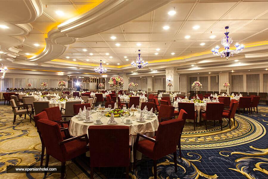هتل اسپیناس پالاس تهران رستوران