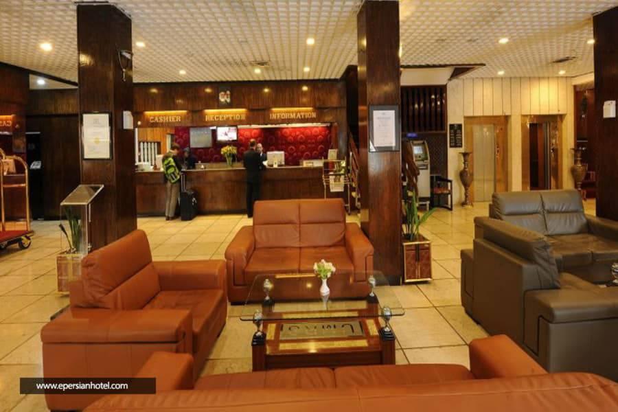 هتل هویزه (کوثر) تهران پذیرش