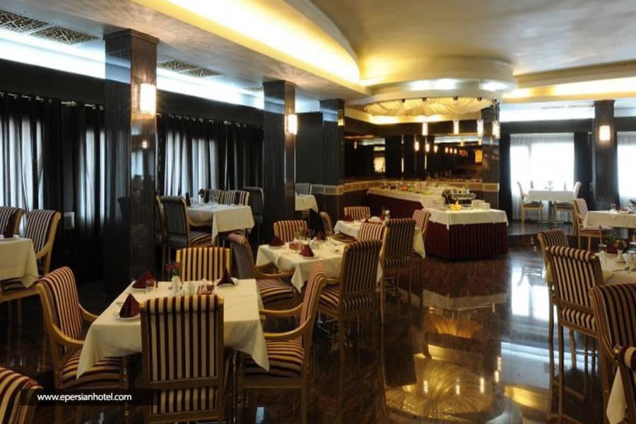 هتل هویزه (کوثر) تهران رستوران