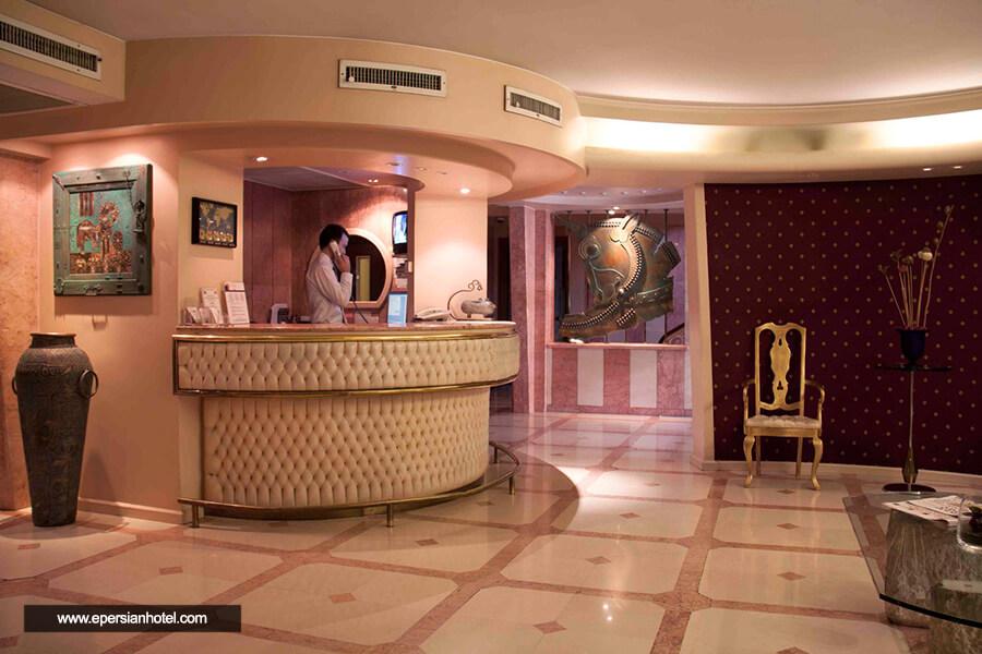 هتل ملل تهران پذیرش