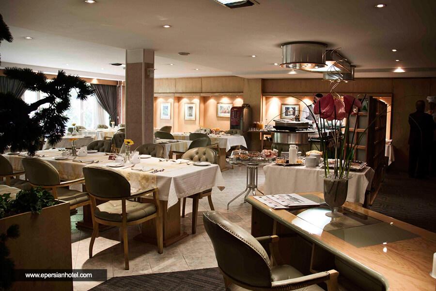 هتل ملل تهران رستوران