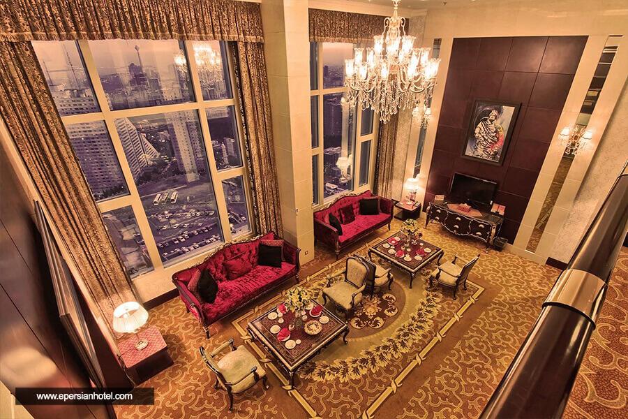هتل آزادی تهران سوئیت پرزیدنتال