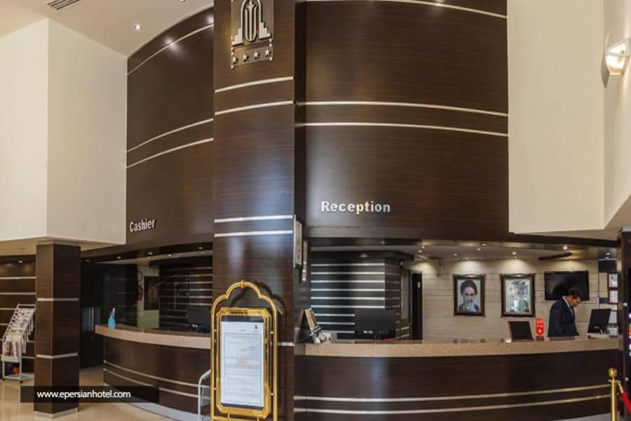 هتل پارسیان اوین تهران پذیرش