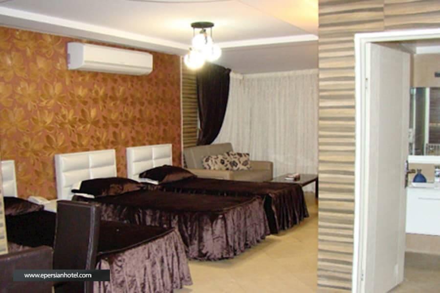 هتل شیان تهران اتاق سه تخته
