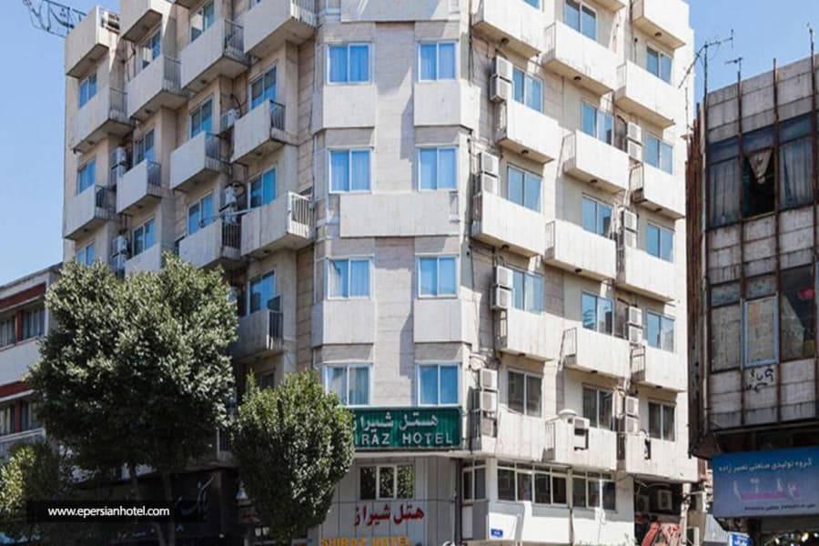 هتل شیراز تهران نمای هتل