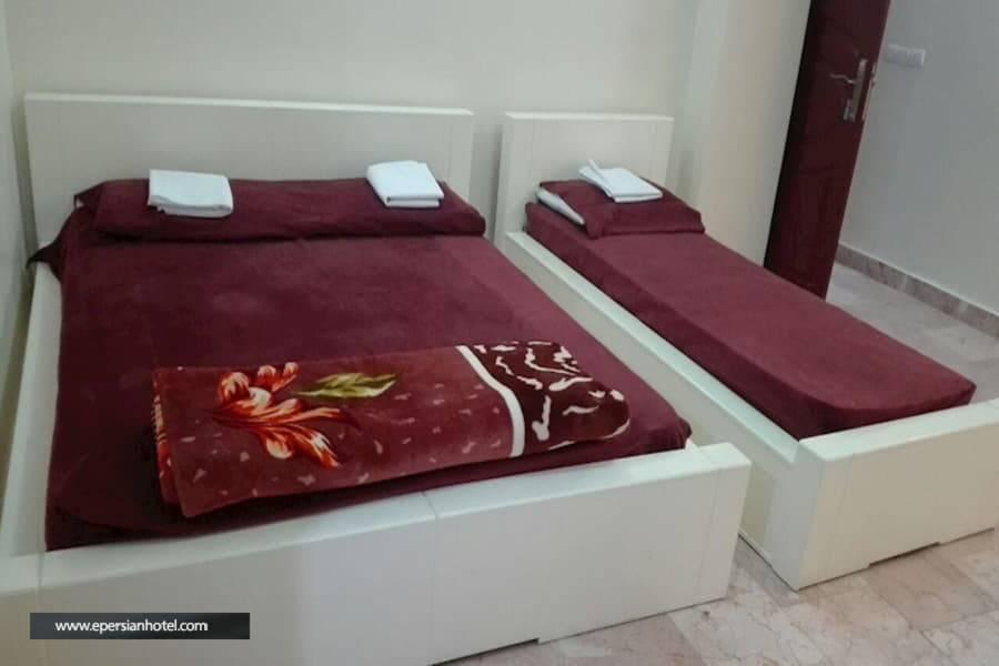 هتل آپارتمان سیب تهران اتاق سه تخته